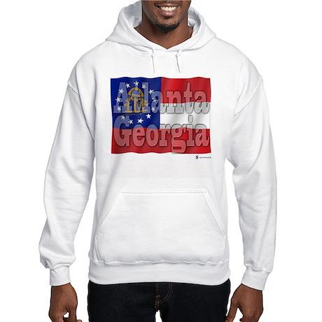 Atlanta, Georgia Hooded Sweatshirt
