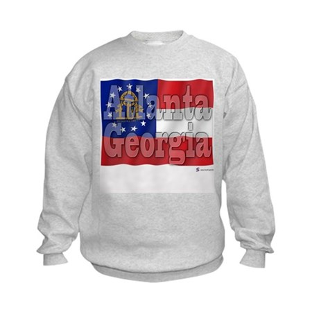 Atlanta, Georgia Kids Sweatshirt