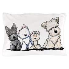 Terrier Time Pillow Case