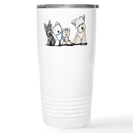 Terrier Time Stainless Steel Travel Mug