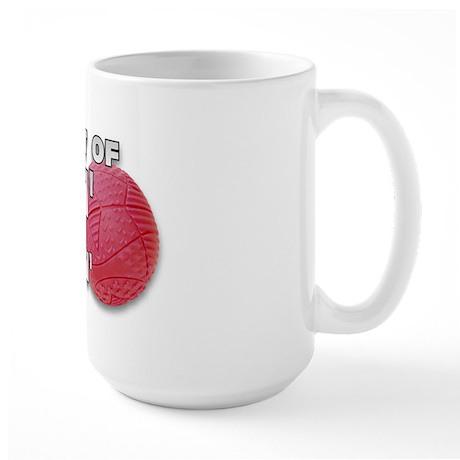 Screaming Kickball (Front) Large Mug
