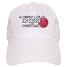 Screaming Kickball (Front) Cap