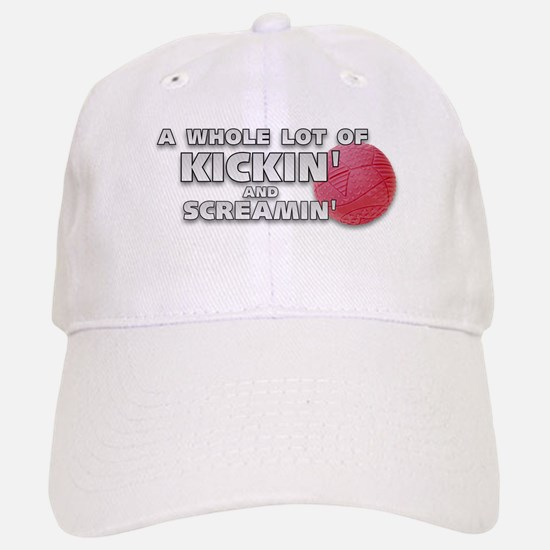 Screaming Kickball (Front) Cap