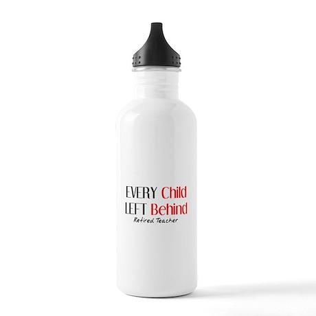 Retired Teacher II Stainless Water Bottle 1.0L