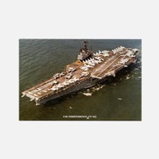 USS INDEPENDENCE Rectangle Magnet