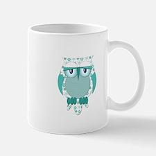 Winter Snow Owl Mug