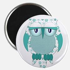 "Winter Snow Owl 2.25"" Magnet (100 pack)"