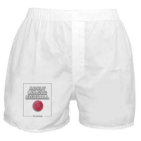 Adult League Kickball Boxer Shorts