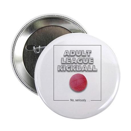 Adult League Kickball Button