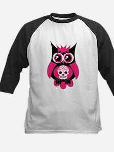 Pink Sugar Skull Owl Tee