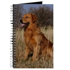 Golden Retriever Art Gifts Journal