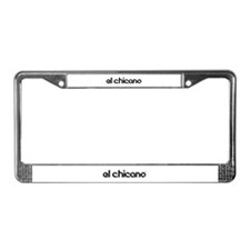 Cute Chicano License Plate Frame
