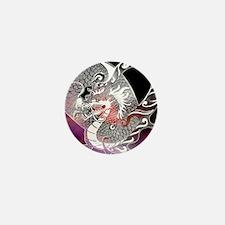 Funny Red dragon Mini Button