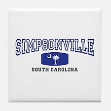 Simpsonville South Carolina, SC, Palmetto State Fl