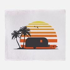 California Streamin' Throw Blanket