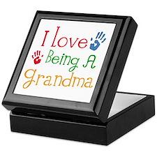 I Love Being A Grandma Keepsake Box