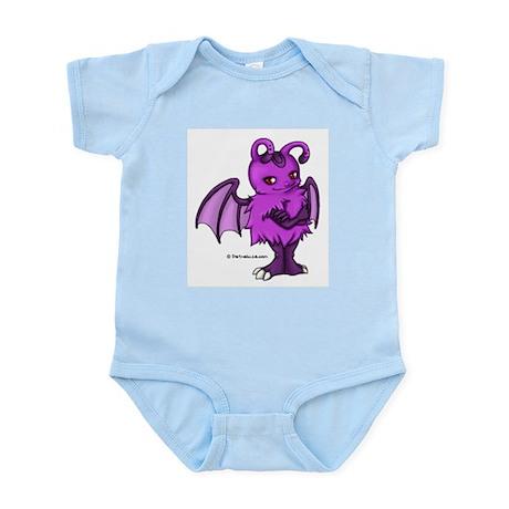 Purple Gretchling Infant Creeper