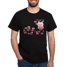 Cherry Blossom Owl T-Shirt