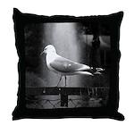 seagulls01 Throw Pillow