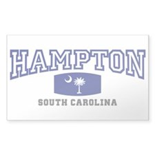 Hampton South Carolina, SC, Palmetto State Flag St