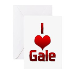 I Heart Gale Greeting Cards (Pk of 20)