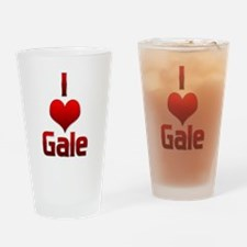 I Heart Gale Drinking Glass