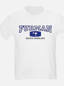 Furman South Carolina, SC, Palmetto State Flag Kid