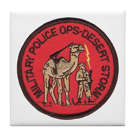 Desert Storm MP Tile Coaster