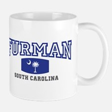 Furman South Carolina, SC, Palmetto State Flag Mug