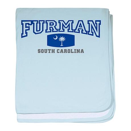 Furman South Carolina, SC, Palmetto State Flag bab