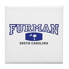 Furman South Carolina, SC, Palmetto State Flag Til