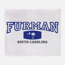Furman South Carolina, SC, Palmetto State Flag St