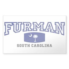 Furman South Carolina, SC, Palmetto State Flag Sti