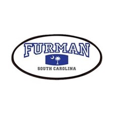 Furman South Carolina, SC, Palmetto State Flag Pat