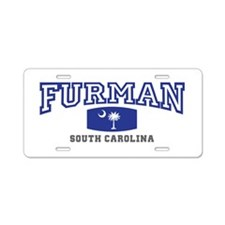 Furman South Carolina, SC, Palmetto State Flag Alu