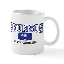 Brunson South Carolina, SC, Palmetto State Flag Mu