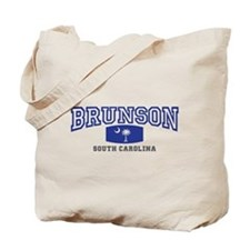 Brunson South Carolina, SC, Palmetto State Flag To
