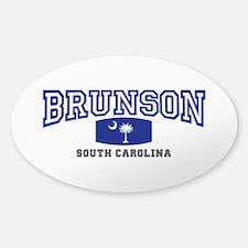 Brunson South Carolina, SC, Palmetto State Flag St