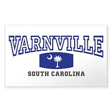 Varnville South Carolina, SC, Palmetto State Flag