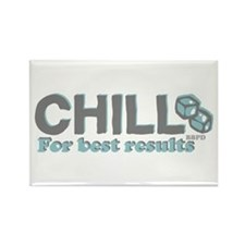 Chill Rectangle Magnet