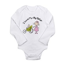 little brother big sister stroller 2 Body Suit