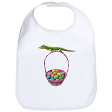 Easter Gecko Bib