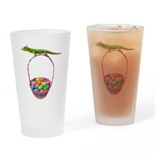 Easter Gecko Drinking Glass