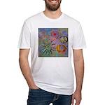 Fitted T-Shirt chakra symbols