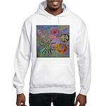 Hooded Sweatshirt chakra symbols
