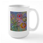 Large Mug chakra symbols