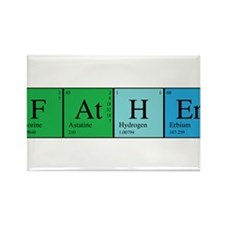 Periodic Father Rectangle Magnet (10 pack)