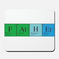 Periodic Father Mousepad
