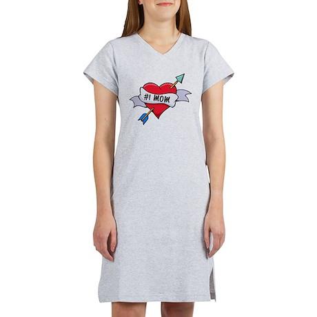#1 Mom Women's Nightshirt