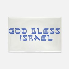 God Bless Israel Rectangle Magnet